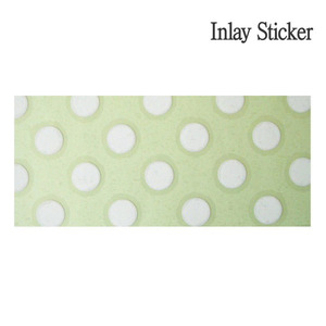 Body Polka Dots Sheet/1sheet (No.92) 악기 스티커
