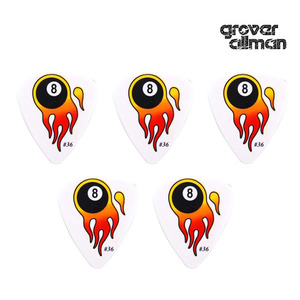 Flaming 8 Ball 0.80mm Collector #36