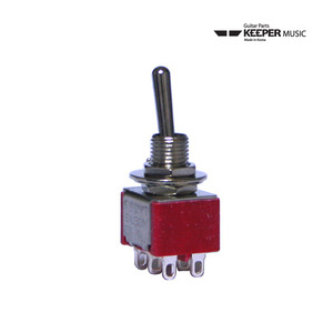 KS M103 Mini Toggle Switch (3단 6P;On-On-On) 토글스위치
