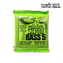 Regular Slinky 5-string 5현 Bass Nickel Wound 045-130 (PO2836) 5현 베이스기타줄