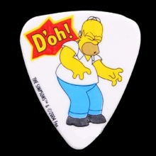 PIC2025-7 Simpsons 0.85mm Pick-#07 Homer D oh