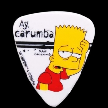 PIC2025-2 Simpsons 0.85mm Pick-#02 Ay carumba