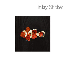 For Ukulele Clownfish (No.154) 악기 스티커